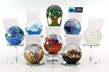 Glass Eye Studio 949 Mirrored 8 Pt Base Display for Celestial Paperweights