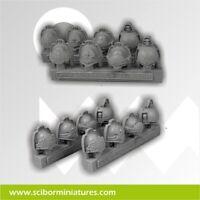Scribor Miniatures: Templar Shoulder Pads - SMM-CPSH0014
