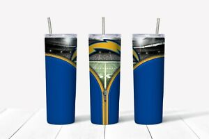 20 oz Stainless Steel Skinny Tumbler Los Angeles Chargers