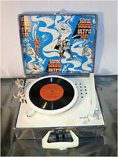 Vintage Collectibe Compact Record Player, Sonic Sound Ultra Son, Model No155