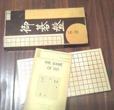 Nice Vintage Oriental Board Game Of Go IOB