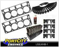 Chev LS2 6.0L Head Gaskets Head Bolts Genuine GM LS Roller Lifter & Guide Kit
