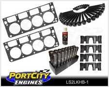 Chev LS2 6.0L Head Gaskets Head Bolts Genuine GM LS Roller Lifter & Guide Kit