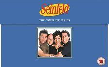 SEINFELD COMPLETE SERIES DVD BOXSET 33 DISCS 180 EPISODES REGION 4