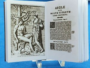 1:12 Scale Book, Hesperides CITRUS FRUIT, 1646, Crafted By Ken Blythe
