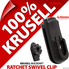 New Krusell Multidapt Ratchet Swivelkit 360° Rotatable Clip Belt Clip For Flex