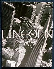 Prospekt brochure 2000 Lincoln Town Car (USA)