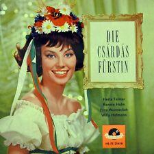 "7"" KALMAN Die Csardasfürstin HERTA TALMAR RENATE HOLM WILLY HOFMANN POLYDOR 1963"
