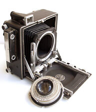 "*c1948* ● MERIDIAN 45A  4 x 5 Press camera Ilex f4.5 6½"" Paragon No.3 Acme Synch"