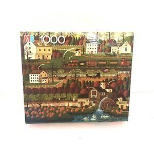 Charles Wysocki Americana 1000 Piece Jigsaw Puzzle HONEY PUMPKIN VALLEY