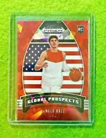LAMELO BALL RED PRIZM CRACKED ICE ROOKIE CARD JERSEY #1 HORNETS SP RC 2020 Prizm
