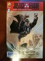 Justice League:  Gods and Monsters - Superman  # 1 - September 2015 - DC Comics