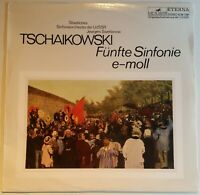 Tchaikovsky Fünfte Sinfonie Jewgeni Swetlanow Melodiya Eterna black Stereo