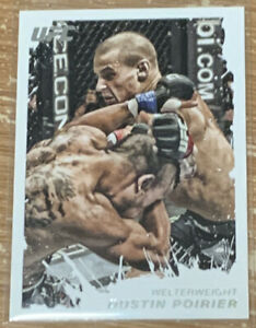 2011 Topps UFC Moment Of Truth Dustin Poirier Rookie Card!!