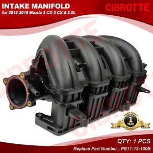 Fits 2013-2018 Mazda 3 CX-3 CX-5 2.0L Engine Intake Manifold w/ Seal PE1113100B
