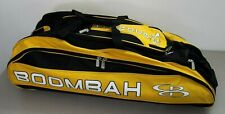 Boombah Baseball Softball Beast Bag Black Yellow HOLE IN BAG
