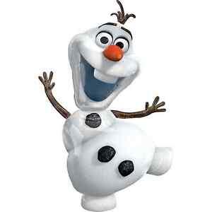 "Disney FROZEN Olaf Snowman Balloon Snow man Birthday Party Decoration Supply 41"""