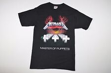 Rare Vintage 1994 Deadstock Mens Small Metallica Master of Puppets Band Shirt