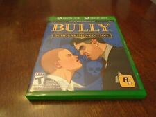 Bully Scholarship Edition w/ original case - tested/working - Xbox 360 Xbox One