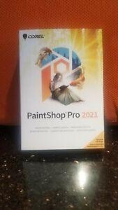 Corel PaintShop Pro 2021 Brand US Retail Box