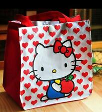 Cute Hello Kitty Food Fruit Lunch Box Carry Tote Bag Travel Picnic Container
