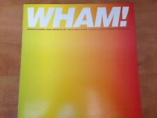 """RARE MAXI 45T (12"""") PROMO 4T GEORGE MICHAEL / WHAM EVERYTHING SHE WANTS"""