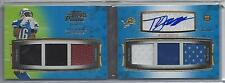 TITUS YOUNG 2011 TOPPS PRIME LEVEL I (1) 6 PIECE PATCH AUTO BOOK RC #D 5/10