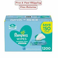 Pampers Scented Baby Wipes, Complete Clean 1200 ct.