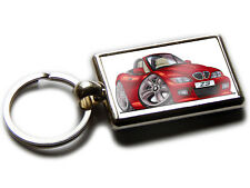 BMW Z3 Sports Car Koolart Chrome Keyring Picture Both Sides
