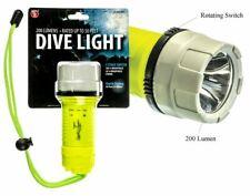 Waterproof Underwater Pool Diving Flashlight