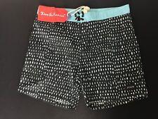 Deus Ex Machina  | Hacking Black/Aqua | Men's Shorts Size 36