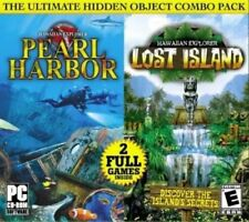 DISC ONLY Hawaiian Explorer 2 Pack: Pearl Harbor & Lost Island (PC, 2009)