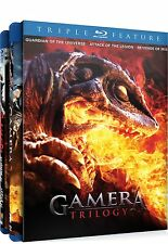 Gamera Trilogy (Blu-ray Disc, 2011, 2-Disc Set)