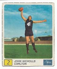 1970 Kelloggs (2) John NICHOLLS Carlton ****