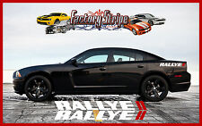 DODGE CHARGER RALLYE LETTERING REAR QUARTER FACTORY STRIPE DECAL 2006 TO 2010