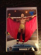 2013 Topps Best of WWE Top Ten World Heavyweight Champions #9 Booker T