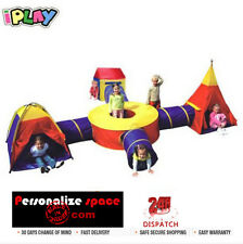 Large Kids Teepee and Tunnel Play Tent