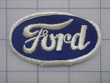 Vintage  FORD  patch  car  auto  racing   van  trucker small oval