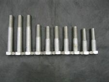 """3/4""""-10 Hex Cap Course Fasteners / Bolts Ss Stainless Steel Qty 10 Misc Length"""