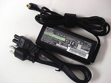 Genuine Original OEM SONY 65W 16V 4A AC Adapter Power Cord Charger VGP-AC16V14