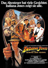 Indiana Jones and the Temple of Doom (1984) Harrison Ford movie poster print 11