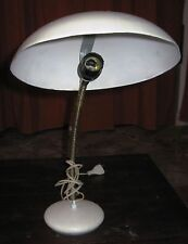 Lampada da tavolo, abat-jour anni 60/70 - metallo verniciato ORIGINALE VINTAGE