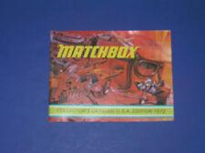 MATCHBOX 1972  CATALOG