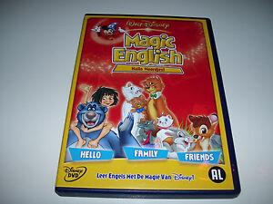 Walt Disney Magic English - Hallo Woordjes * DUTCH SPANISH ITALIAN GERMAN * DVD