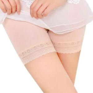 The Best Hot Safety Short Pants Elastic Anti Chafing Lace Thigh Sock Middle Wais