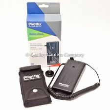 Phottix 8 AA Flash External Battery Pack - CANON 600EX-RT 580EXII 580EX & MORE