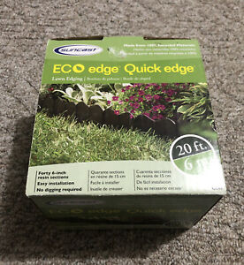"Suncast ECO Edge Quick Edge 20ft long  40-6"" pieces In Box - New In Box"