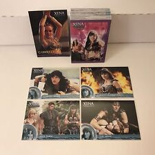 XENA WARRIOR PRINCESS SEASON 6 Complete Card Set LUCY LAWLESS w/ PROMO CARD #P2
