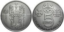 5 EURO PORTUGAL 2004 UNC - COUVENT DE L'ORDRE DU CHRIST DE TOMAR