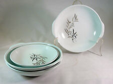 Universal Ballerina Mist Strawflower Set of 3 Oven-Proof Lugged Soup Bowls